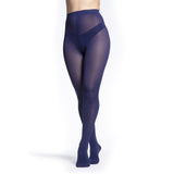 Sigvaris Soft Opaque Women's 20-30 mmHg Pantyhose, Blue Iris