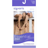 Sigvaris Opaque 30-40 mmHg OPEN TOE Thigh High