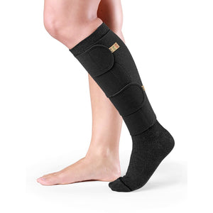 Sigvaris Compreflex Transition Calf Wrap, Black