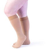 Sigvaris Secure Women's 40-50 mmHg Knee High, Beige