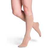 Sigvaris Soft Opaque Women's 15-20 mmHg Knee High, Caramel