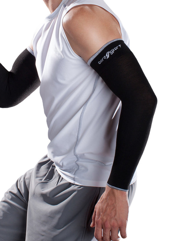 Core-Sport 15-20 mmHg Compression Athletic Arm Sleeves