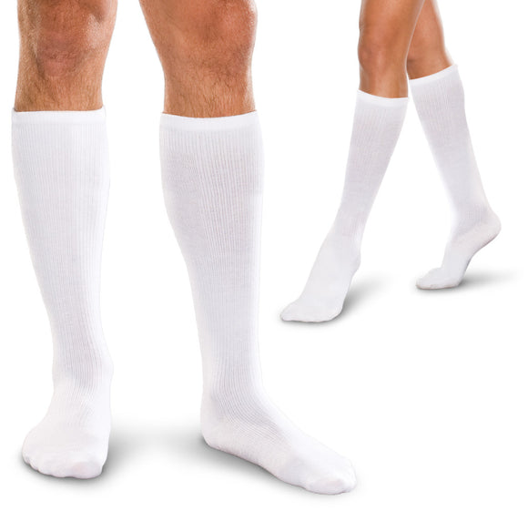 Core-Spun 10-15 mmHg Knee High Compression Socks