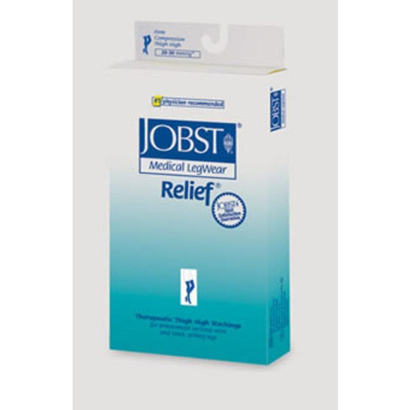 Jobst Relief 20-30 mmHg OPEN TOE Waist High