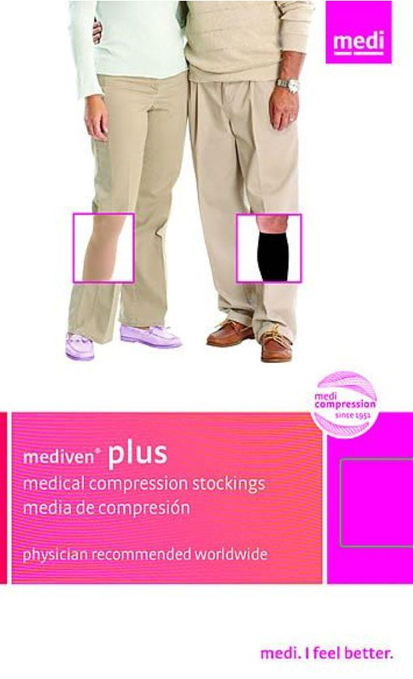 Mediven Plus 30-40 mmHg OPEN TOE Knee High