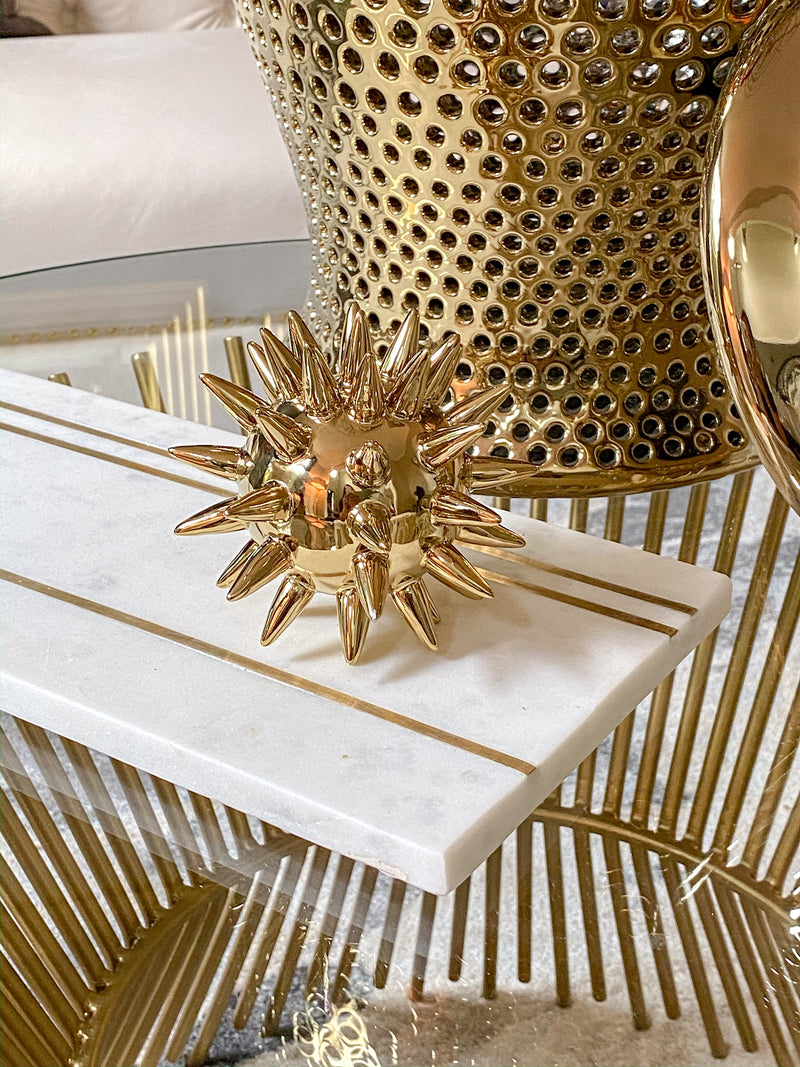 Gold Spike Tabletop Decor