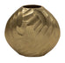 Gold Metal Hammered Vase (2 Sizes)-Inspire Me! Home Decor
