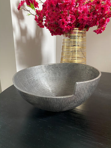 Dark Decorative Bowl-Inspire Me! Home Decor