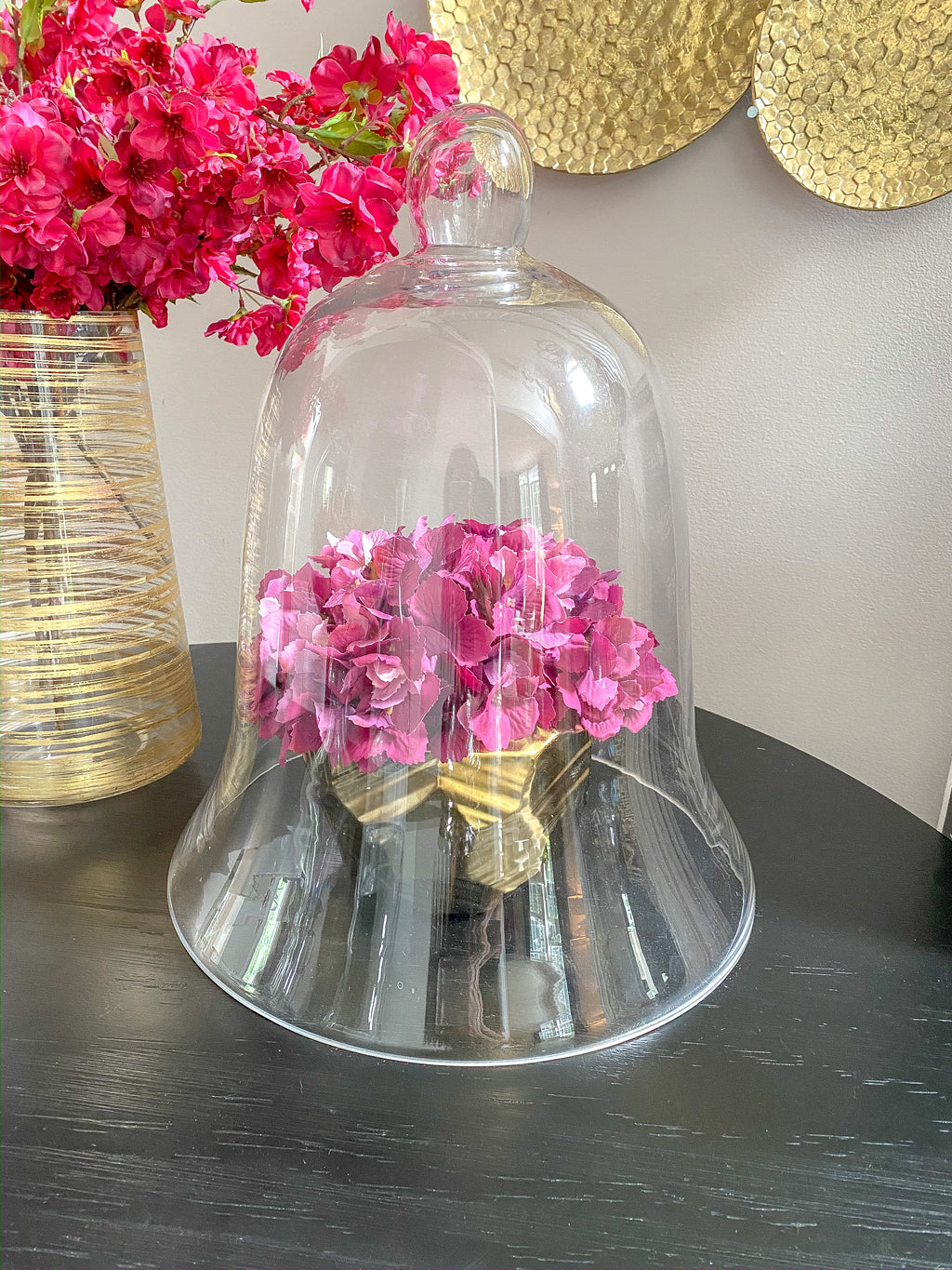 Oversized Glass Bell Cloche-Inspire Me! Home Decor