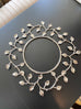 Silver Metal Decorative Wreath
