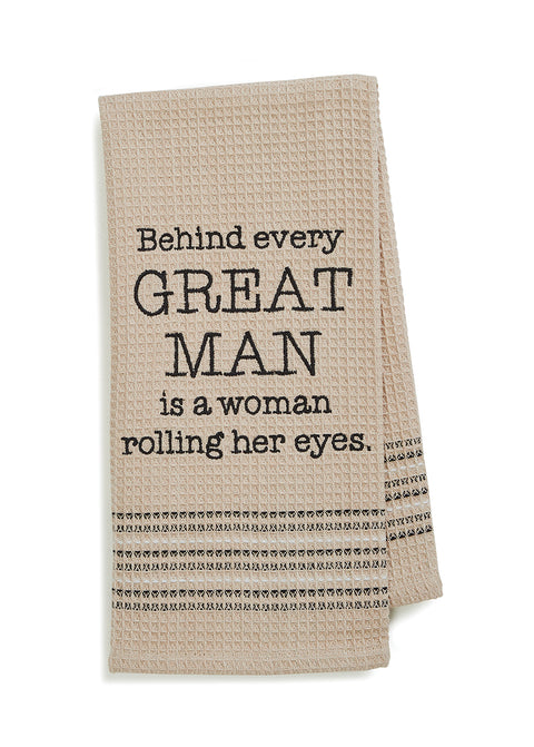 GREAT MAN Hand Towel