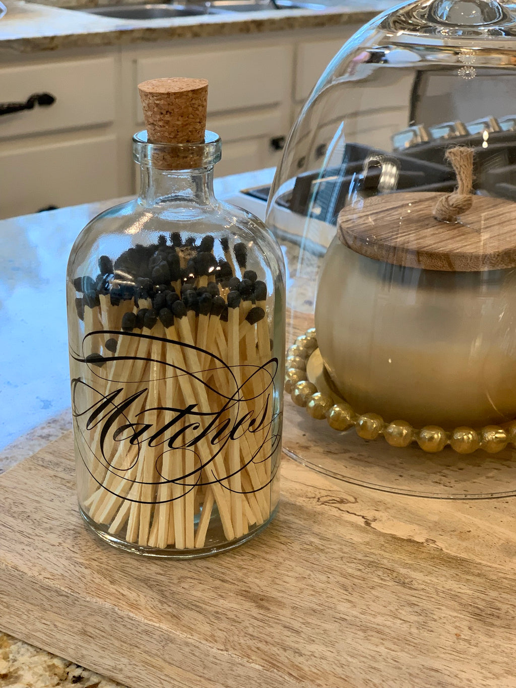 """Matches"" Match Bottle-Inspire Me! Home Decor"