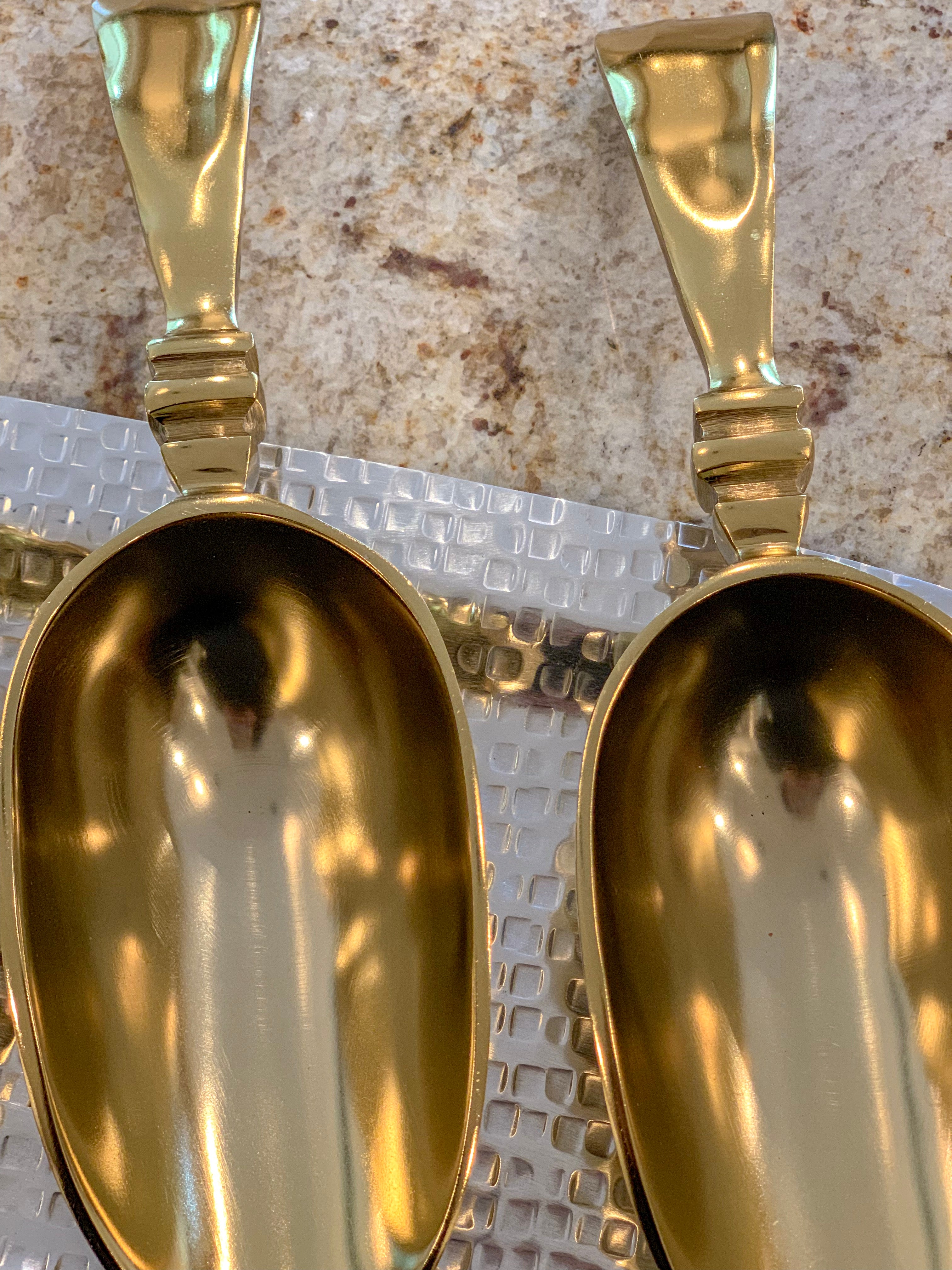 Gold Gilded Ice Scoop
