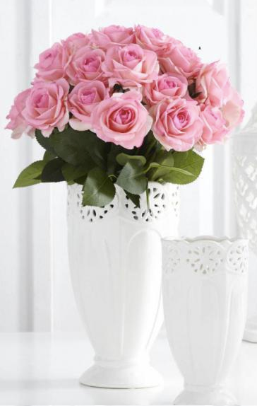 Real Touch Rose Bundle (Pink)