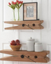Natural Wood Clothespin Shelves (2 Sizes)-Inspire Me! Home Decor