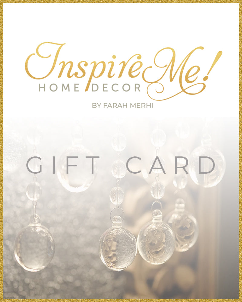 Inspire Me! Home Decor Gift Card-Inspire Me! Home Decor