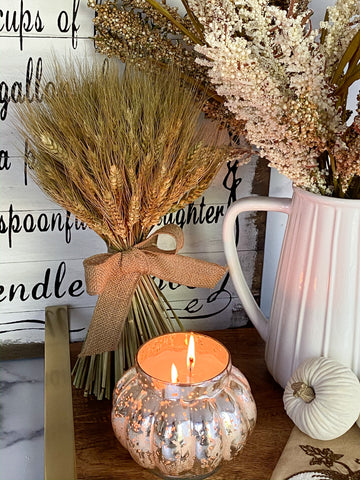 Tied Dried Wheat Bundle-Inspire Me! Home Decor