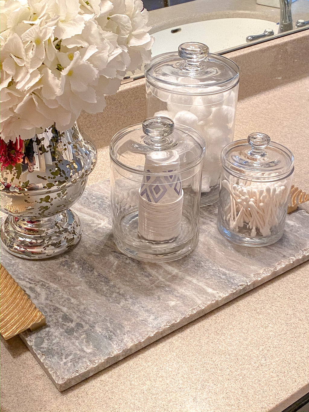 3 Glass Jar Set