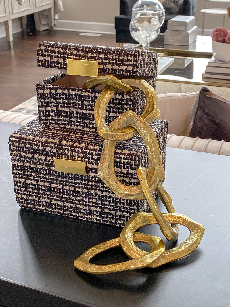 Chain Tabletop Decor ( 2 colors)