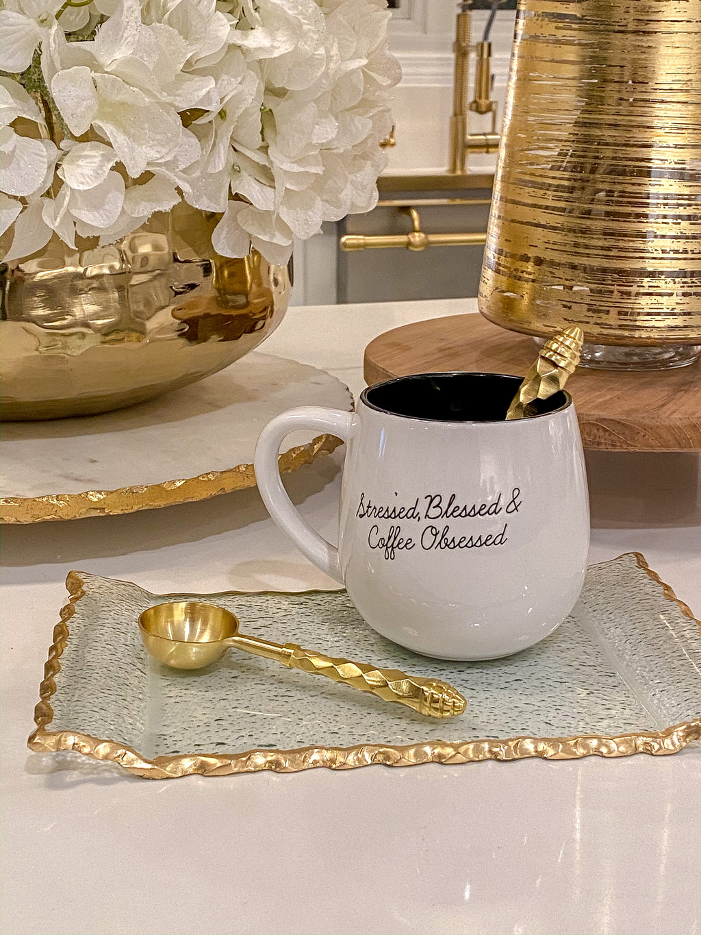 Stressed Blessed Coffee Mug-Inspire Me! Home Decor