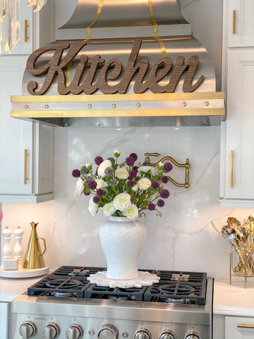 Wooden Kitchen Sign-Inspire Me! Home Decor