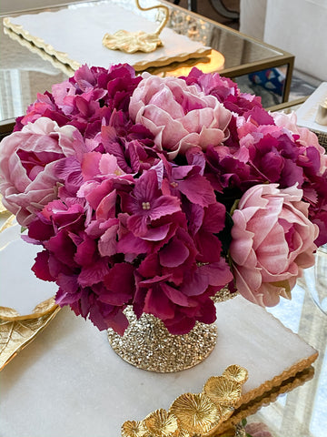 Real-Touch Hydrangea Stem (4 Colors)-Inspire Me! Home Decor