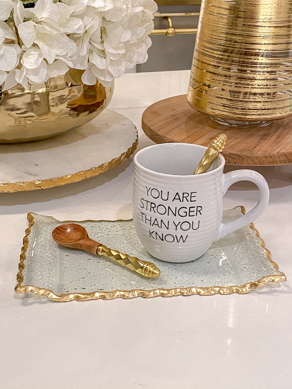 You are Stronger Coffee Mug-Inspire Me! Home Decor