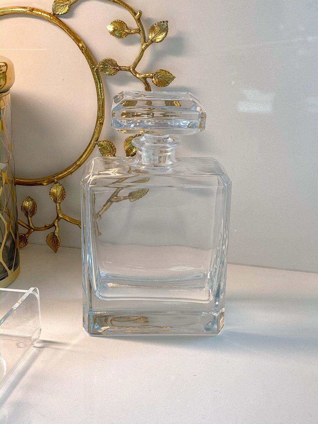 Glass Decanter 30 Oz-Inspire Me! Home Decor