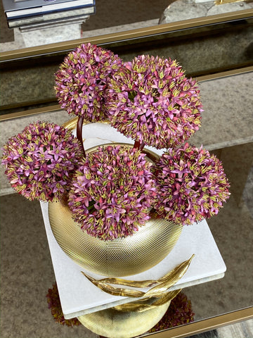 Purple Allium Stem-Inspire Me! Home Decor