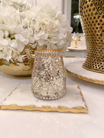 Shattered Glass Candle-Inspire Me! Home Decor