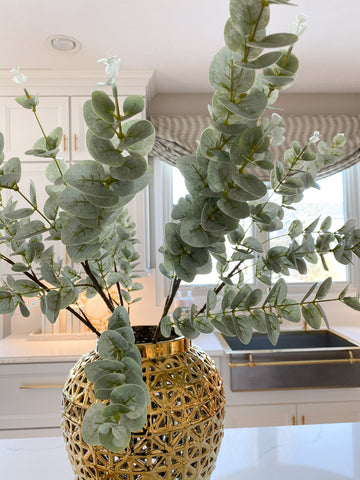 Light Green Eucalyptus Stem-Inspire Me! Home Decor