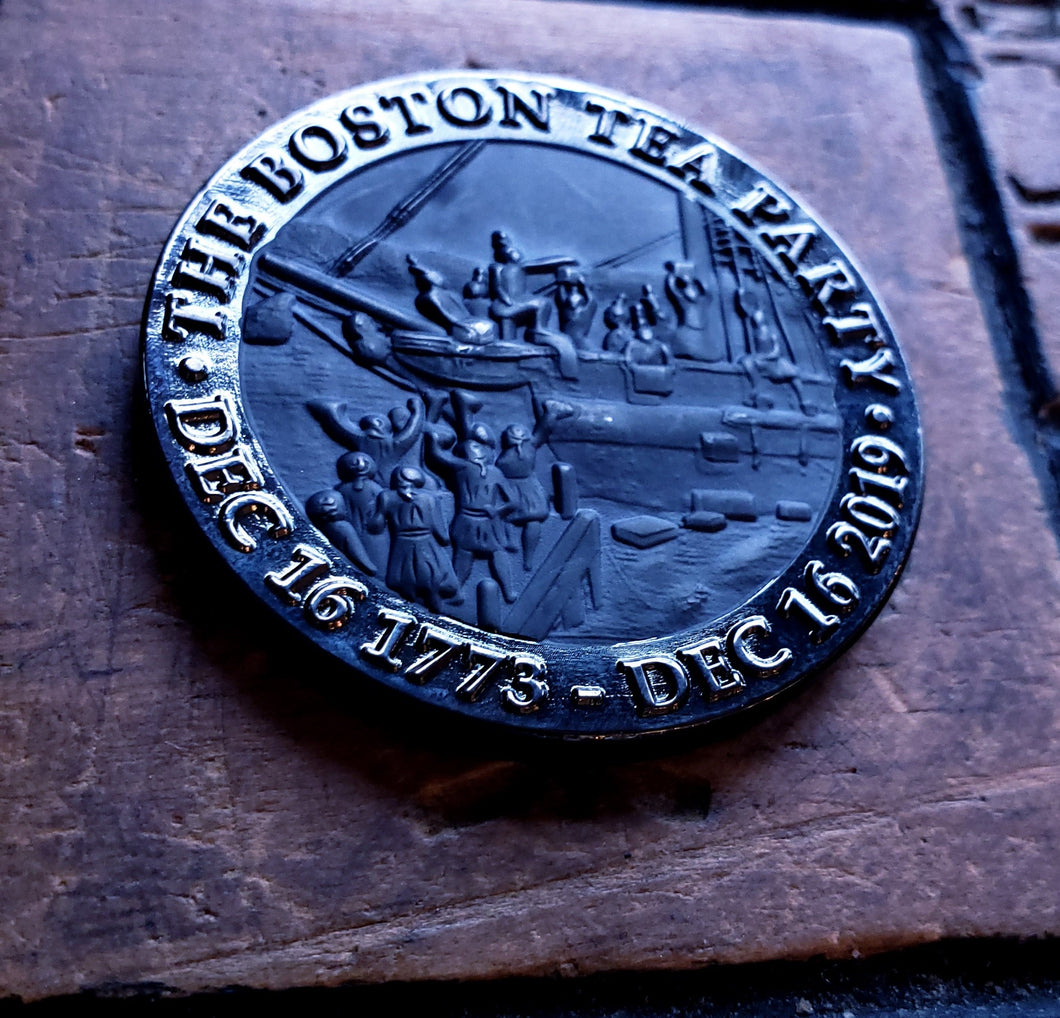 Boston Tea Party 246th Anniversary Commemorative Coin