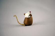 Boston Tea Party Mouse Figurine - Abigail