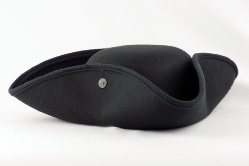 Black Tricorn Hat