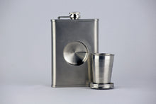 Boston Tea Party Ships & Museum Logo Flask