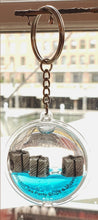 Floating Tea Chest Key Chain