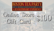 Boston Tea Party Ships & Museum Online Store Gift Card