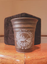 Boston Tea Party Stone Bronze and Gold Shot Glass