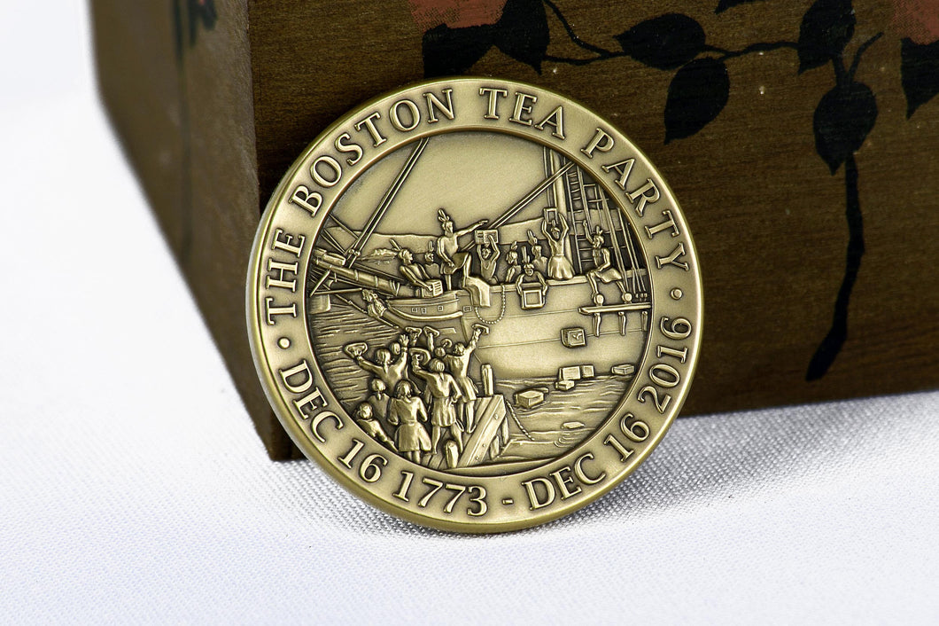 Boston Tea Party 243rd Anniversary Commemorative Coin