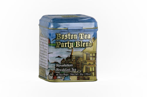 Boston Tea Party Blend Revolutionary Breakfast Tea Tin