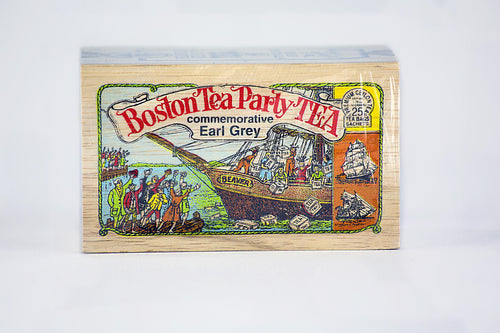 Boston Tea Party Earl Grey Tea Box