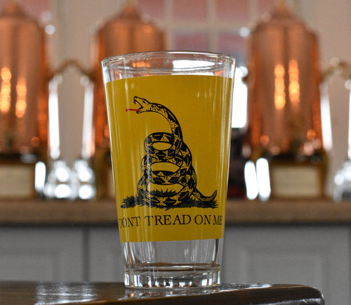 Don't Tread On Me Pint Glass