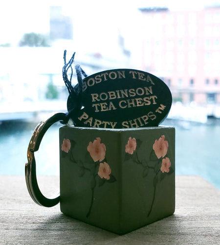 Robinson Tea Chest Keychain