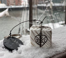 Boston Tea Party Ships & Museum Tea Chest Keychain