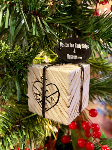 Boston Tea Party Ships & Museum Tea Chest Ornament