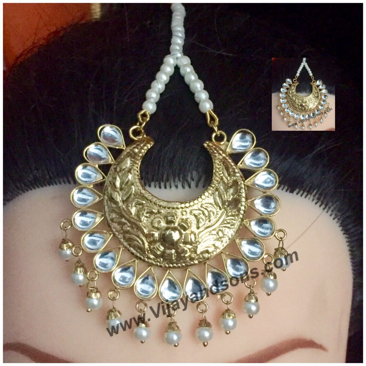 Indian Bridal Jewelry and Adornment to Woman