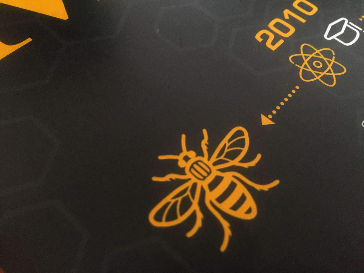Heritage Prints - Manchester Heritage Print - BEE IN THE CITY EDITION