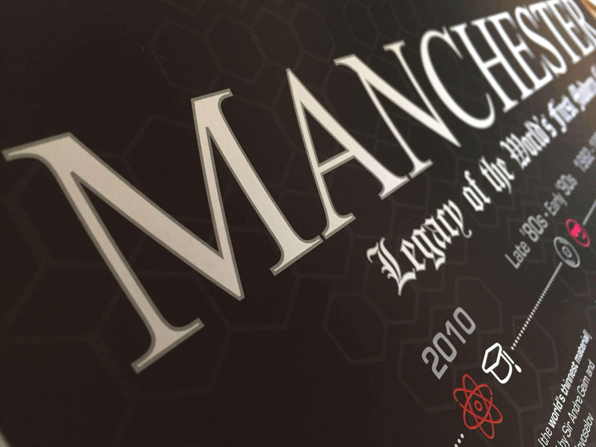 Heritage Prints - Manchester Heritage Print - BLACK EDITION