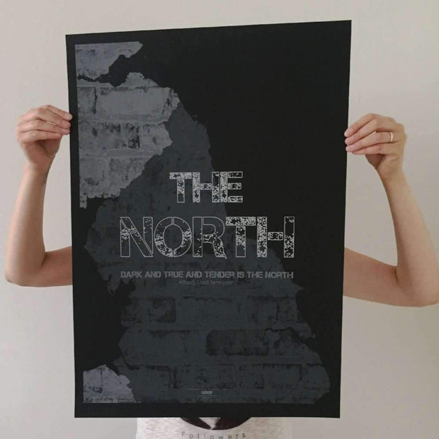 THE NORTH - Premium Screen Print [Handmade Ltd. Edition Of #28]