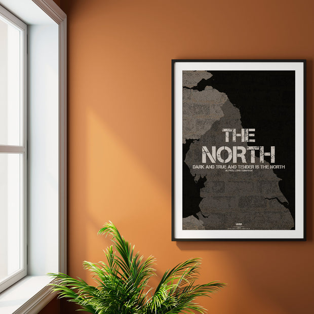 """DARK AND TRUE AND TENDER IS THE NORTH"""